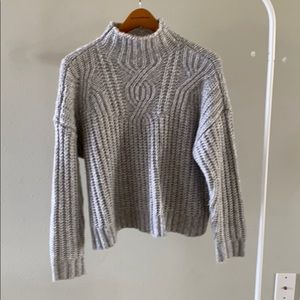 Aerie mock neck sweater